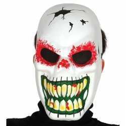Halloween Horror skelet masker lange tanden