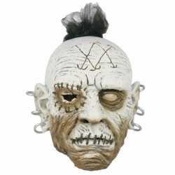 Halloween horror wit gezicht masker oorbellen