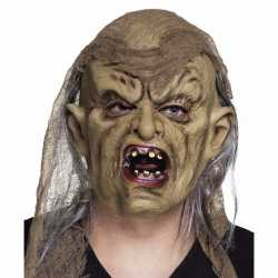 Halloween latex horror freak masker volwassenen