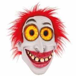 Halloween latex horror masker enge clown