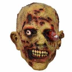 Halloween latex horror masker zombie bloedend oog