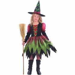 Halloween Luxe heksenjurk meisjes