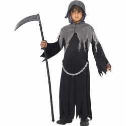 Halloween magere hein kostuum kinderen