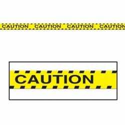 Halloween Markeerlint Caution