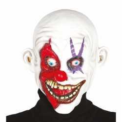 Halloween masker horror clown kaal hoofd