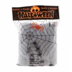 Halloween Mega spinnenweb spinnen 392 gr