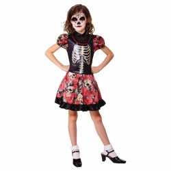 Halloween Mexicaanse dag van de dood jurkje meisjes