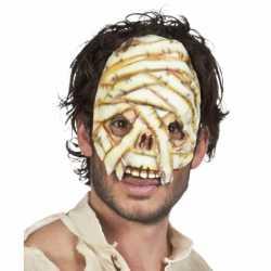 Halloween Mummie masker volwassenen