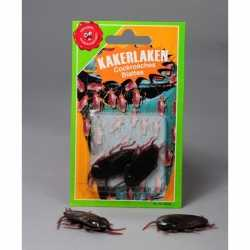 Halloween Nep kakkerlakken 2 stuks