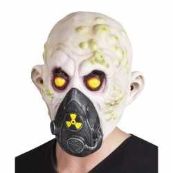 Halloween nucleair slachtoffer halloween masker van latex
