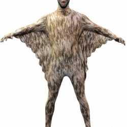 Halloween Originele morphsuit vleermuis