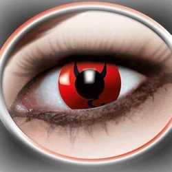 Halloween Party lenzen duivel ogen