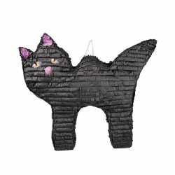 Halloween pinata zwarte kat/poes 58