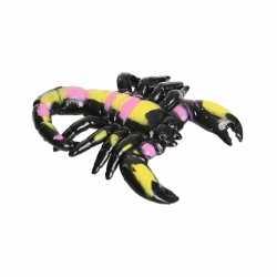 Halloween plastic knijpdier schorpioen