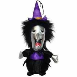 Halloween Pluche knuffel heks pop 30