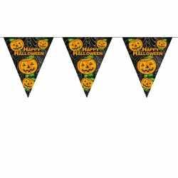 Halloween Pompoenen vlaggenlijn