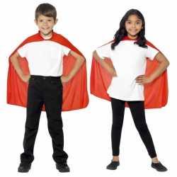 Halloween Rode cape kinderen