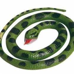 Halloween Rubberen anaconda slang 66