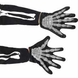 Halloween Skelet handschoenen kinderen