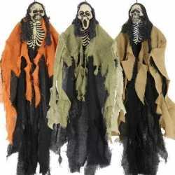 Halloween Skelet hang decoratie 1 stuks