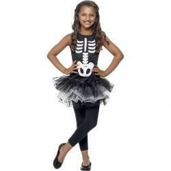 Halloween skelet kostuum meiden