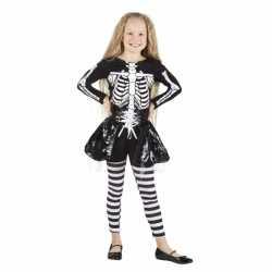 Halloween Skelet kostuum meisjes