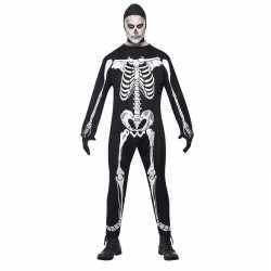 Halloween skelet kostuum volwassenen