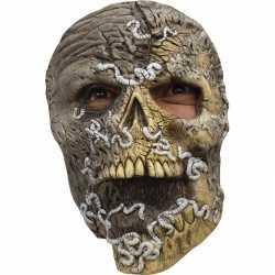 Halloween skelet masker wormen