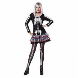 Halloween Pakjes.Halloween Skelet Verkleed Kostuum Dames