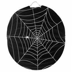 Halloween spinnenweb lampion 22
