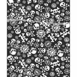 Halloween Tafelkleed horror zwart wit