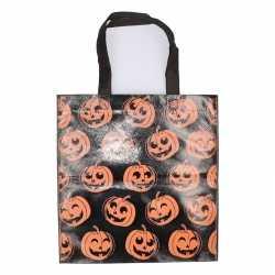 Halloween tas snoep zwart