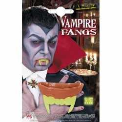 Halloween Vampier gebit glow in the dark