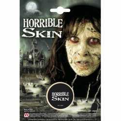 Halloween Verschrikkelijke huid make-up