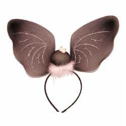 Halloween Vleermuizen vleugels diadeem