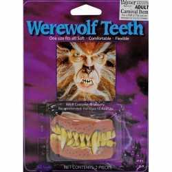Halloween Weerwolf gebitje