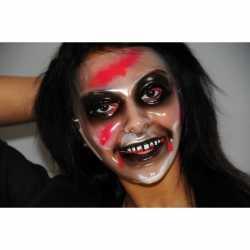 Halloween Zombie vrouw masker