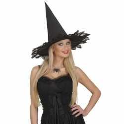 Halloween Zwarte ketting spin