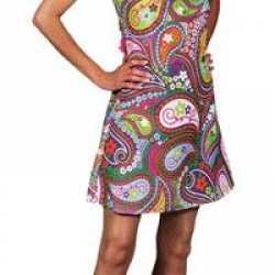 Halter hippie jurk dames
