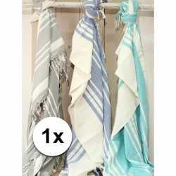 Hamam handdoek xl blauw 200 bij 240