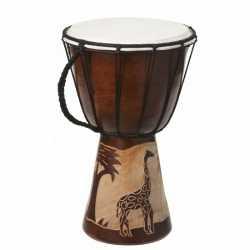 Handgemaakte drum Giraffe 25