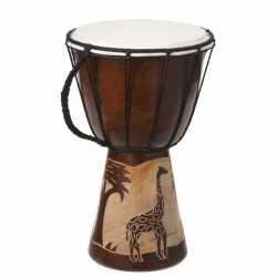 Handgemaakte drum Giraffe 30