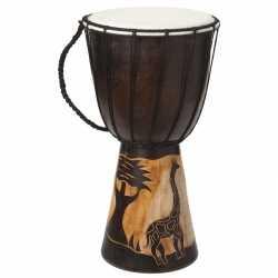 Handgemaakte drum giraffe 40