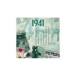 Historische verjaardag cd kaart 1941