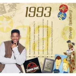Historische verjaardag cd kaart 1993