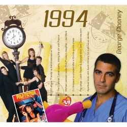 Historische verjaardag cd kaart 1994