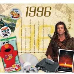 Historische verjaardag cd kaart 1996