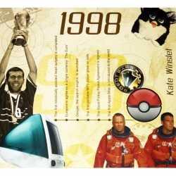 Historische verjaardag cd kaart 1998