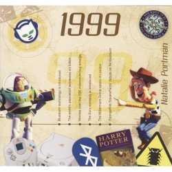 Historische verjaardag cd kaart 1999