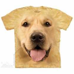 Honden t shirt golden retriever volwassenen